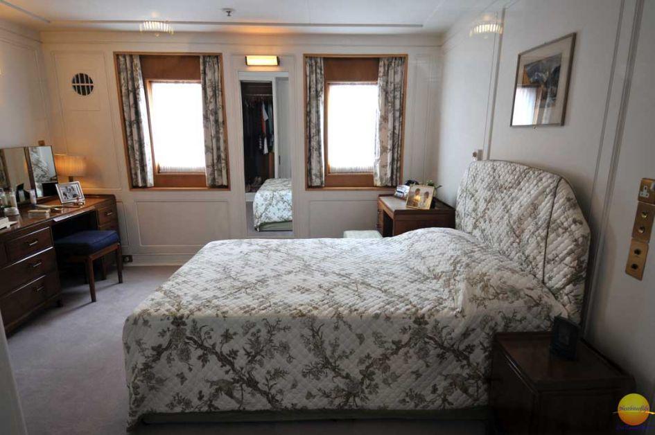 honeymoon suite on royal yacht britannia