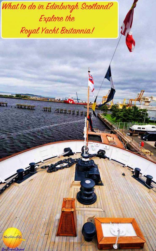 Royal Yacht Britannia tour #edinburgh #scotland #royalyachtbritannia #hmybritannia #edinburghguide