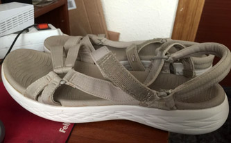 Best sandals for flat feet - Skechers