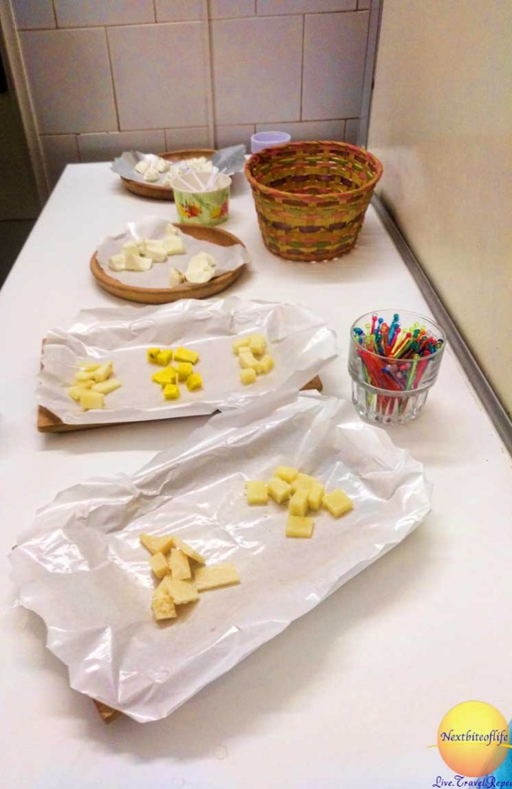 cheese samples roman guy tour rome