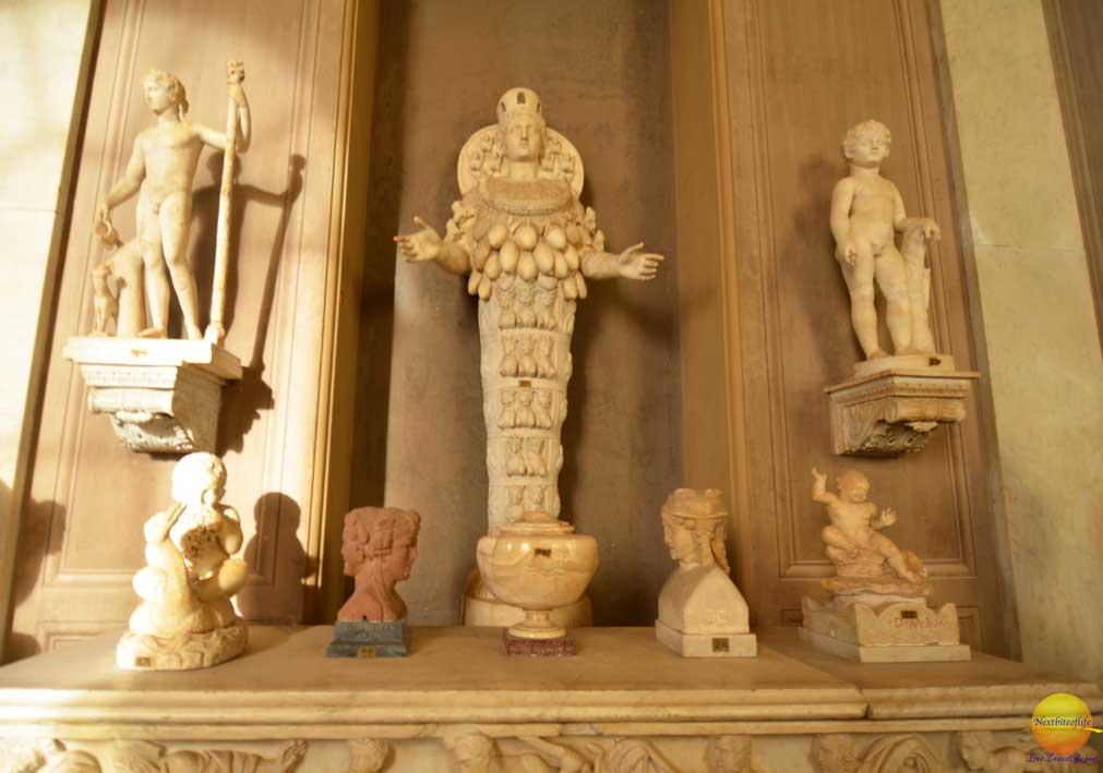 mother nature sculpture vatican