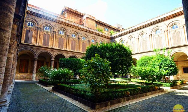 Palazzo Doria Pamphili In Rome Italy Is Magnificent