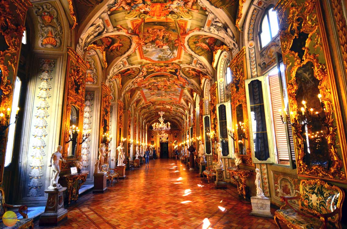 gallery of mirrors palazzo dor