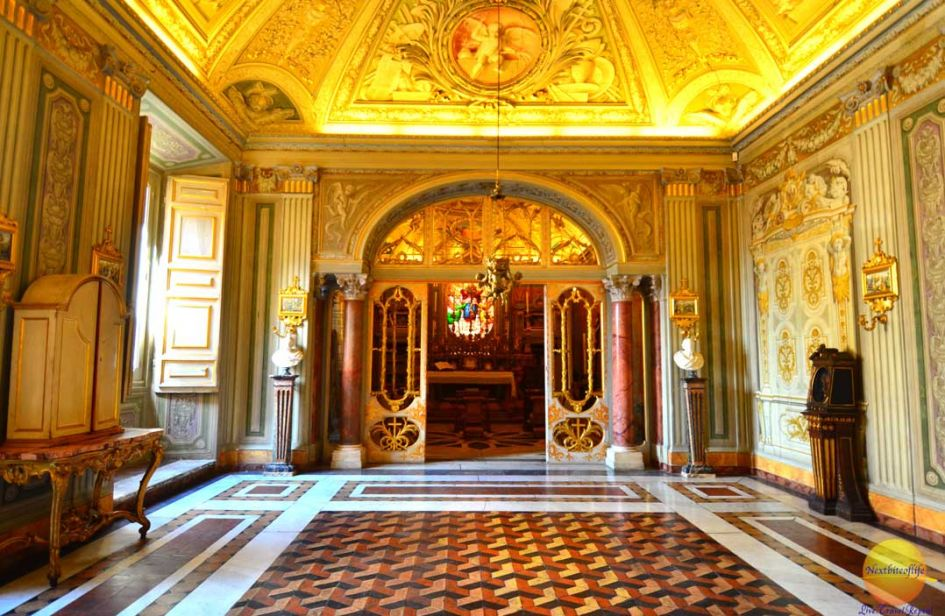 golden room palazzo doria pamphili