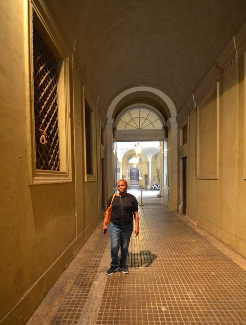 doria pamphili palace entrance me
