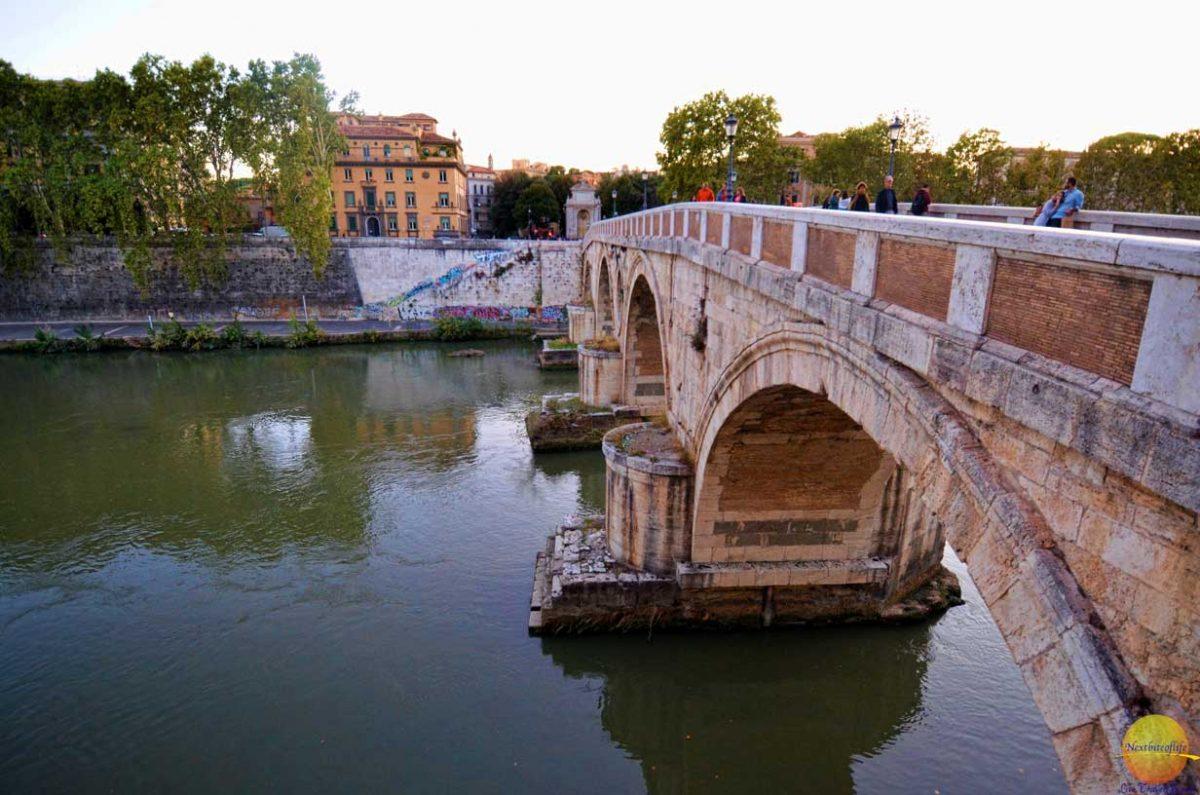 best food tour rome ponte sisto bridge