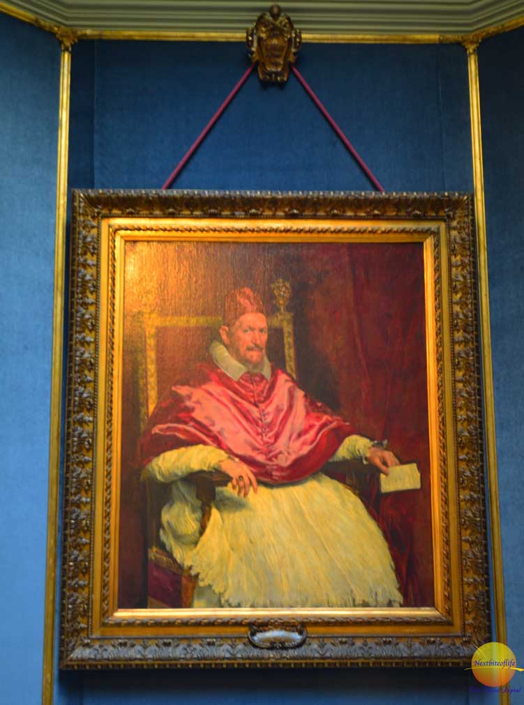 pope Innocent painiting by velasquez