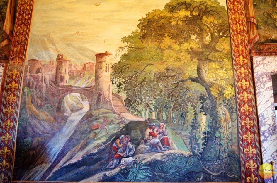 tapestrr art villa d'este