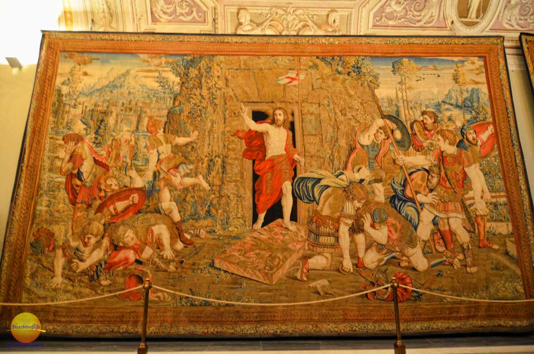 vatican wall tapestry