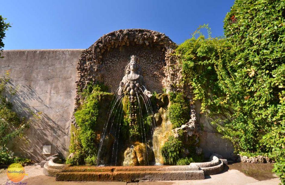 fountain of mother nature villa d'este