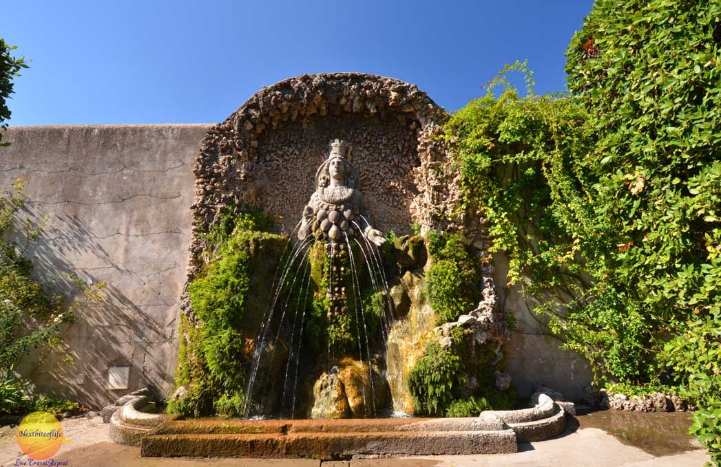 fountain of mother nature villa d'este