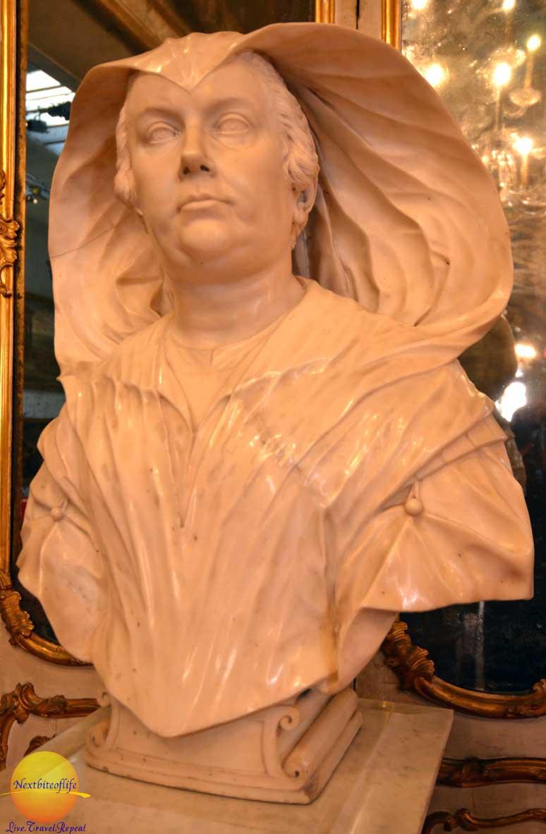 olympia Maidalchini statue palazzo doria