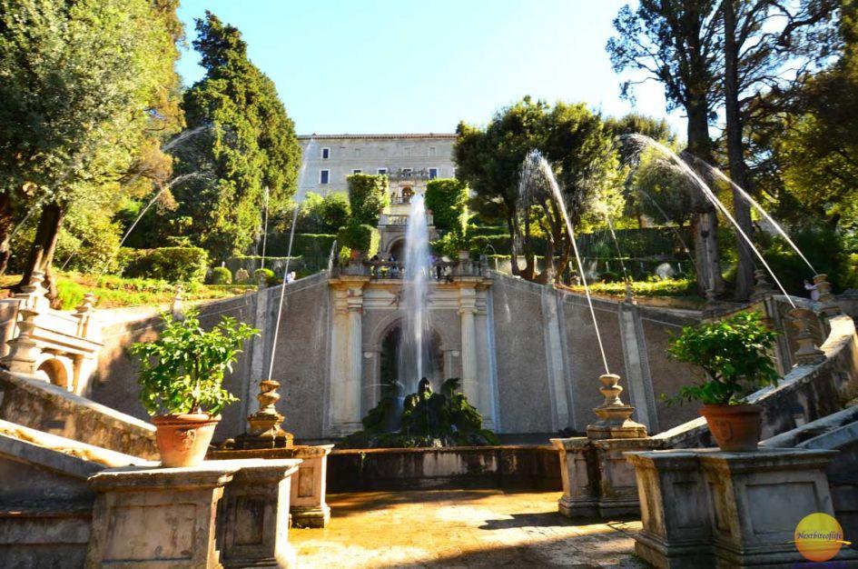 rome-tivoli villa d'este gardens
