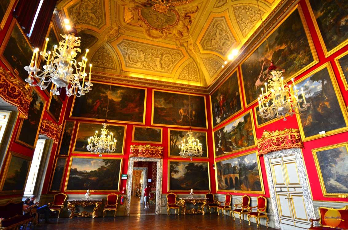 palazzo doria velvet room rome