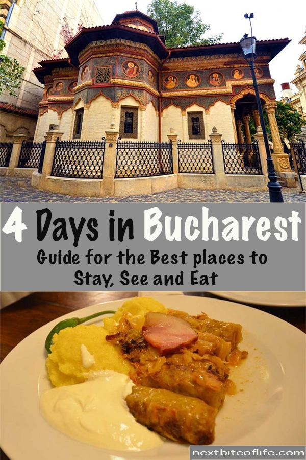 4 days in Bucharest guide #bucharest #romania #europetravels #pelescastle #bucharestitinerary #bucharestguide #mustseebucharest #visitbucharest