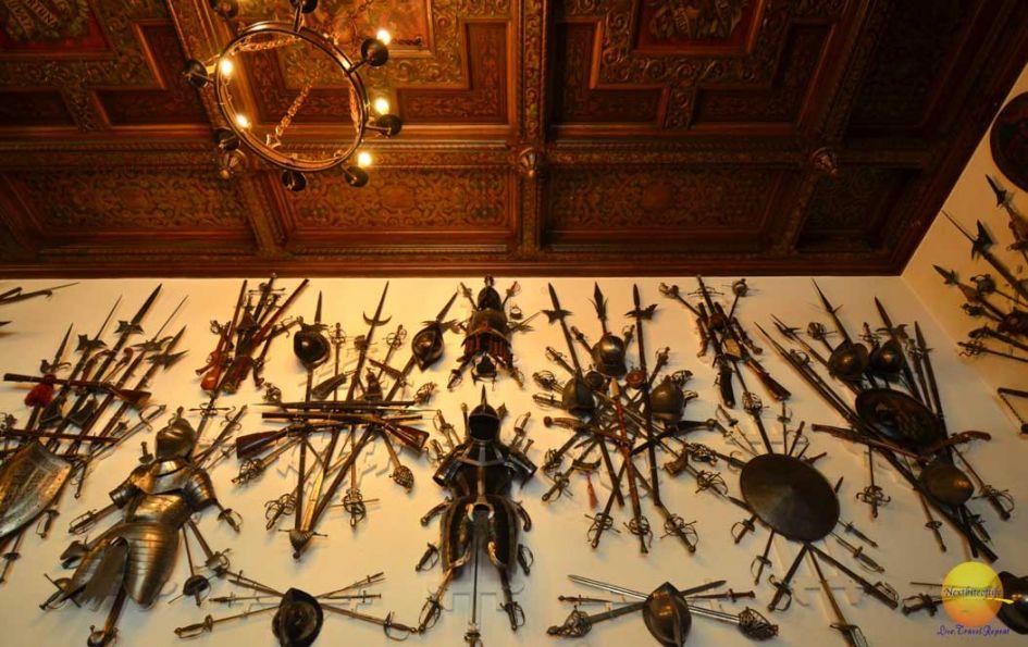 killer weapons peles castle