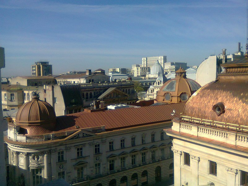 hotel rooftop in Bucharest 4 day guide