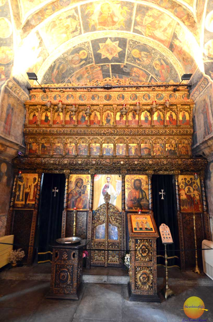 stavropoleos chapel bucharest