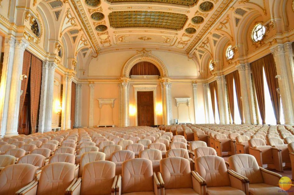 movie theater peoples palace - parliament house Bucharest