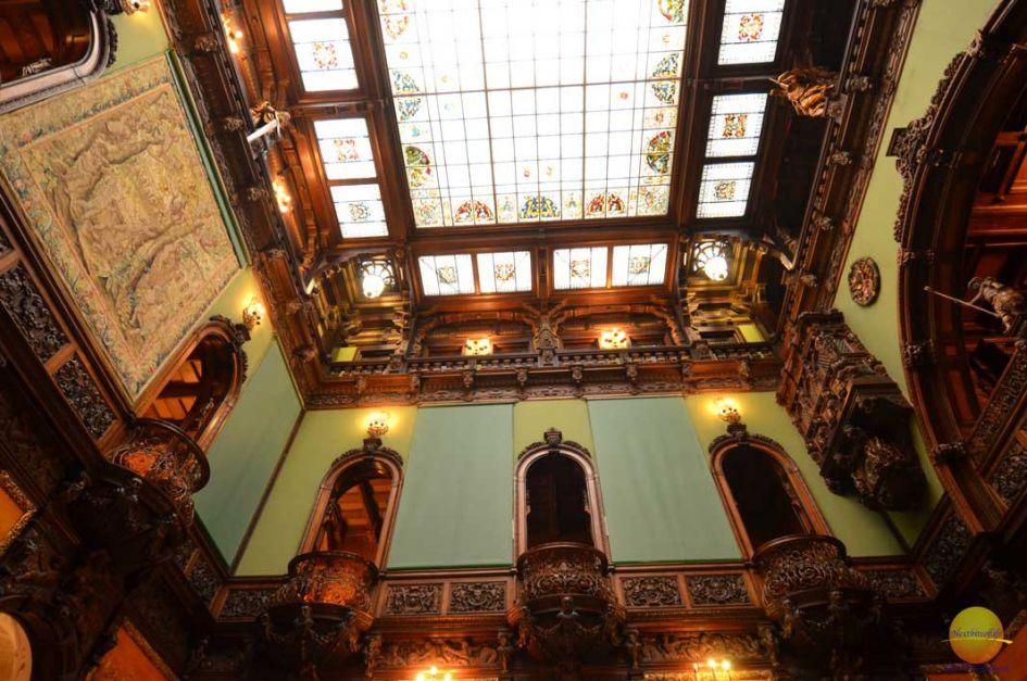 How to spend 4 days in beautiful Bucharest. interior peles castle bucharest romania