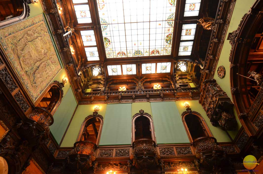 How to spend 4 days in beautiful Bucharest. interior peles castle bucharest romania
