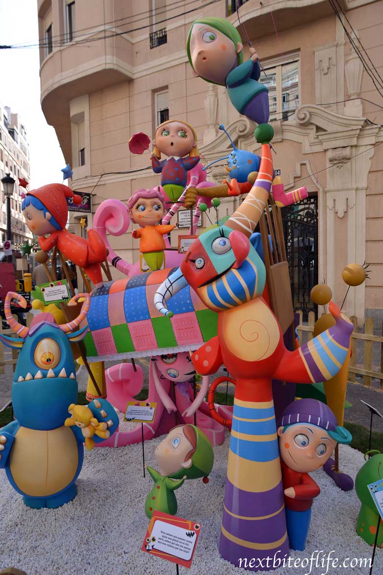 kid display fallas valencia
