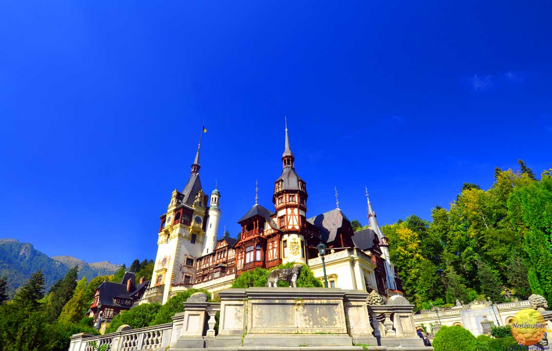peles castle is one of the finest in romania