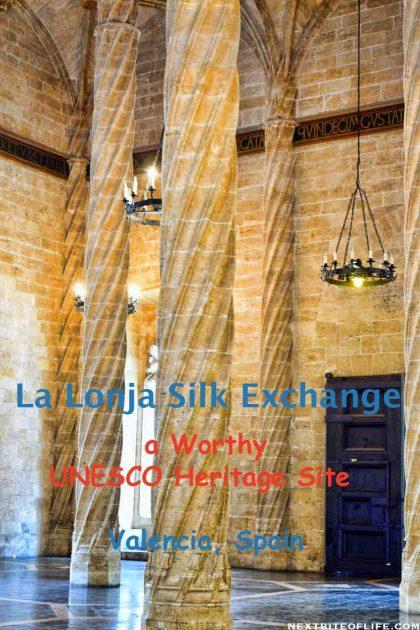 La Lonja Silk Exchange #valencia #Spain #UNESCO #silkexchange #lalonja