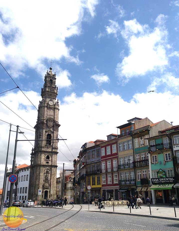 clerigos tower porto portugal #whattoseeporto #porto #portugal #whattodoporto #clerigostower
