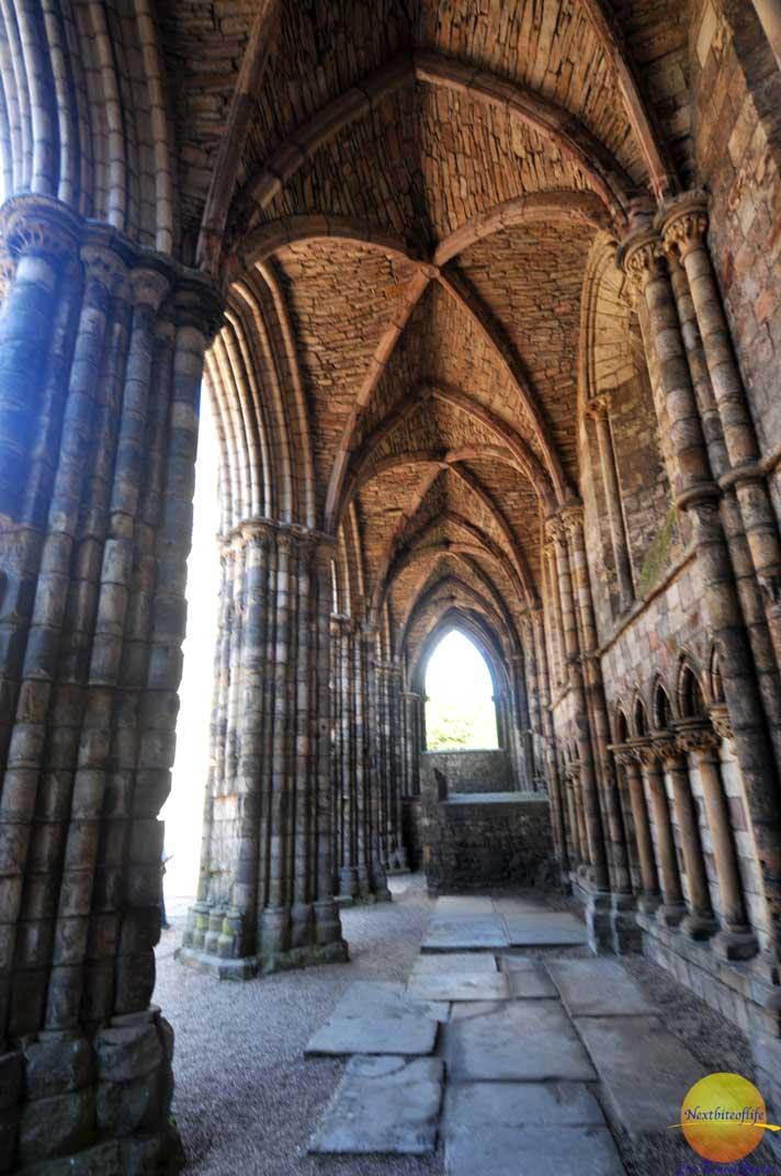 cloister of holyrood abbey #holyroodabbey #holyroodpalace #whattoseeinedinburgh #edinburgh #cloister