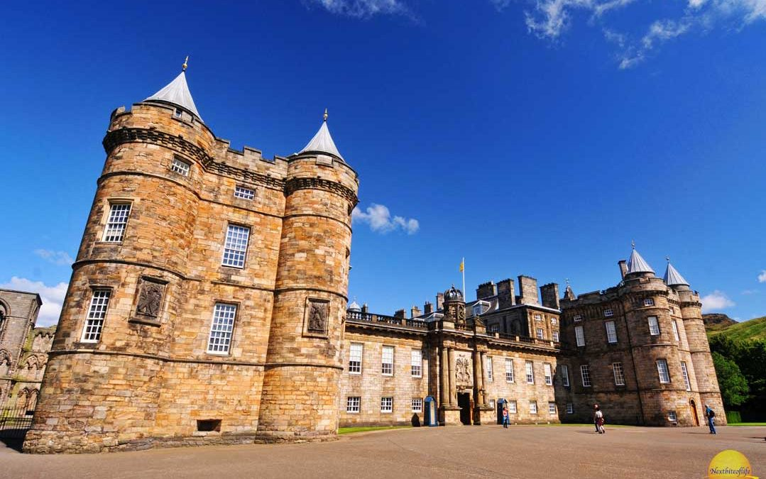 Historic Holyrood Palace Of Royalty Edinburgh Scotland