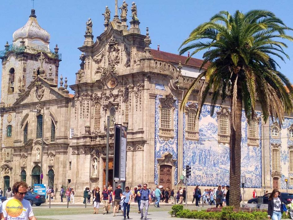 carmo church porto portugal