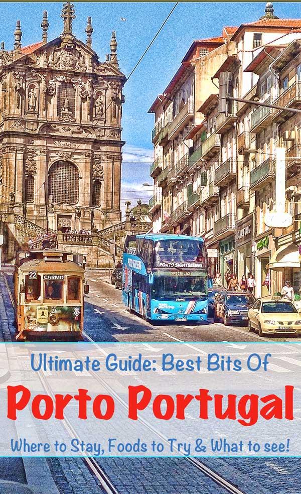 budget luxury guide porto pinterest #porto #portugal #portugalitinerary #mustseeporto #mustdoporto #clerigostower #foodporto #portoguide