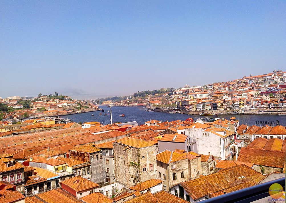ribiera view from vila nova de gaia porto