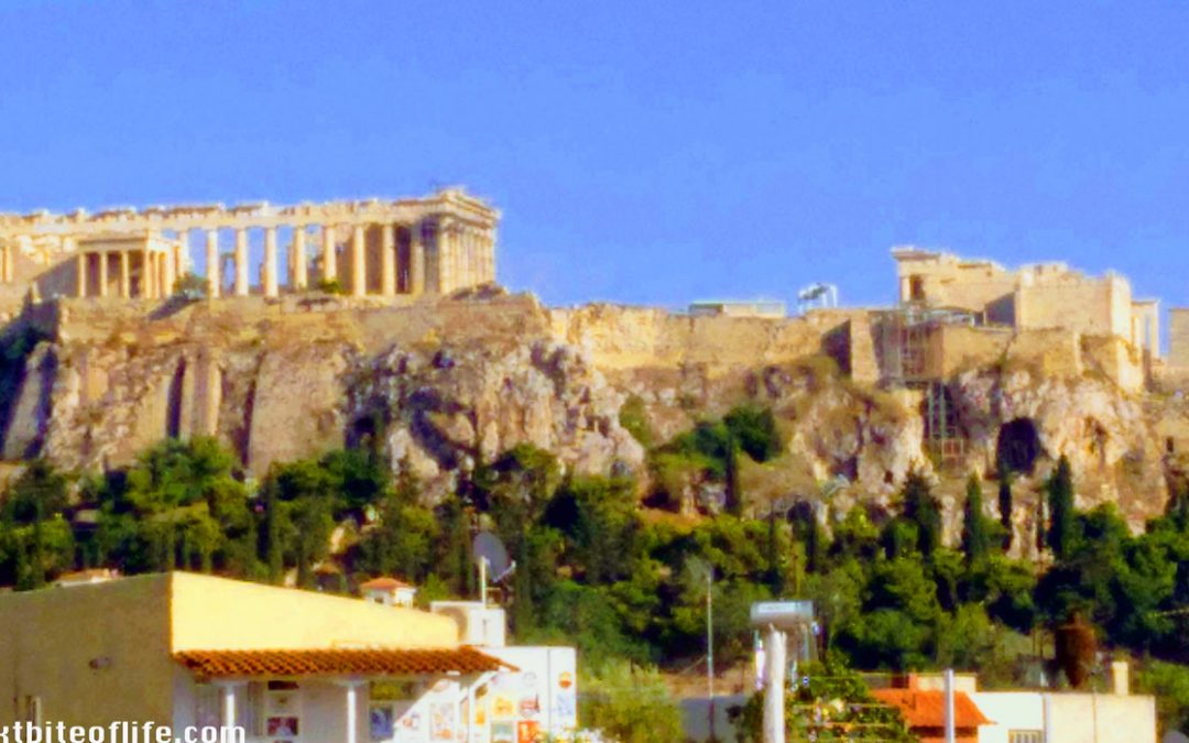 Greece Postcard- Hello From Athens