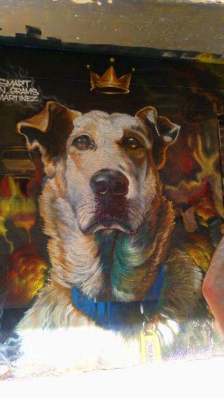loukanikos riot dog #athens #greece #riotdog #graffitti #streetart #loukanikos