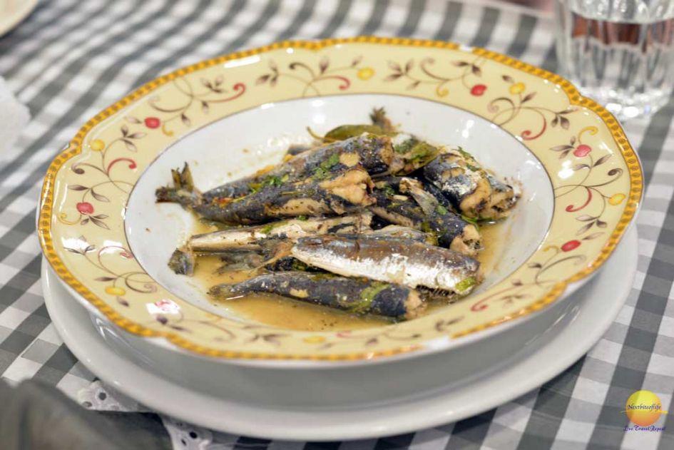 grilled sardines athens