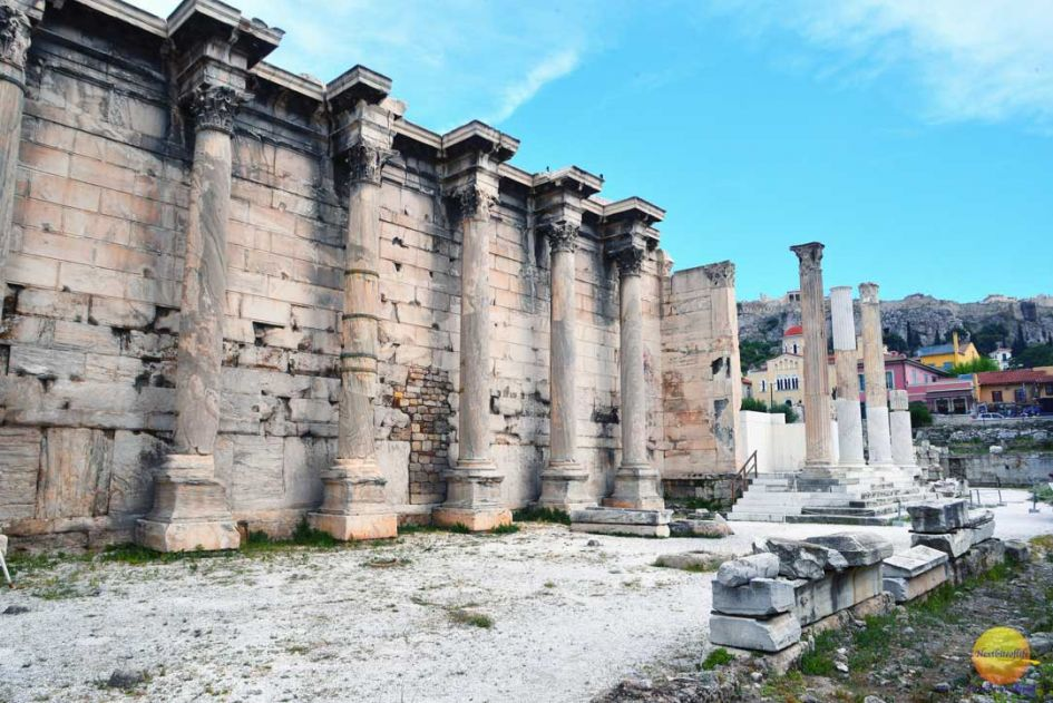 pillars and ruins on the good, bad and ugly sides of Athens guide.