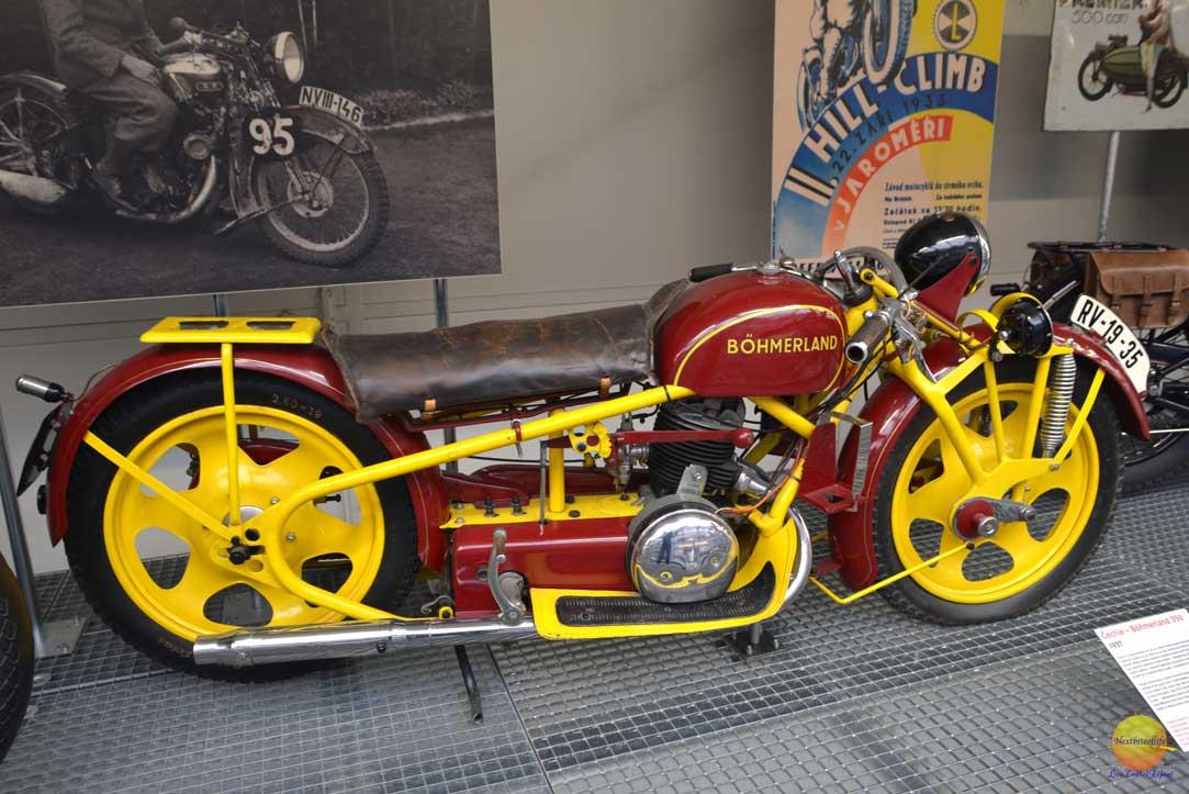 bohmerland bike at narodni technicke muzeum praha
