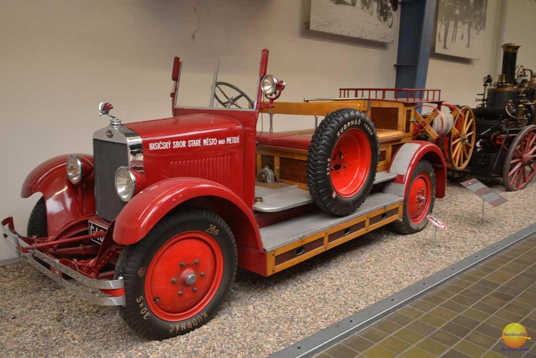 national technical museum prague fire truck