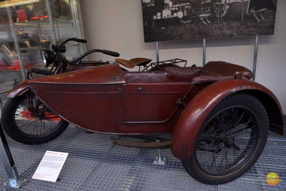 teknisk museum prague indian scout bike