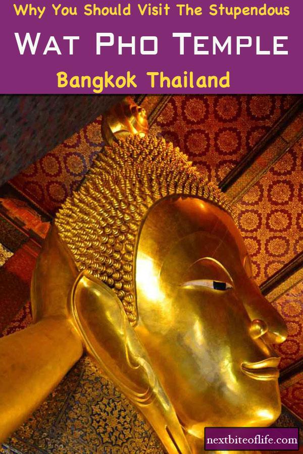 Wat Pho Temple Bangkok #recliningbuddha #temple #watphobangkok #bangkokmustsee #visitbangkok #bangkokitinerary