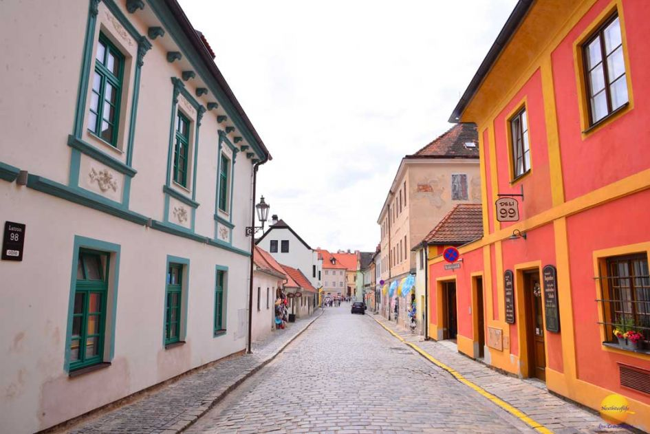 cesky krumlov street