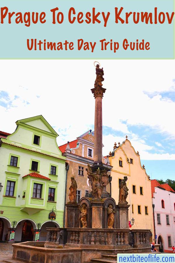 Cesky Krumlov Day Trip From Prague #daytripceskykrumlov #ceskykrumlov #praguedaytrip #1daykrumlov #czechrepublic