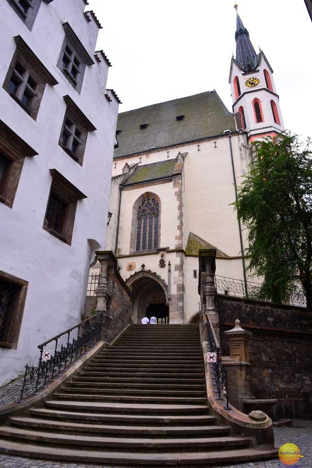 St Vitus church Cesky Krumlov