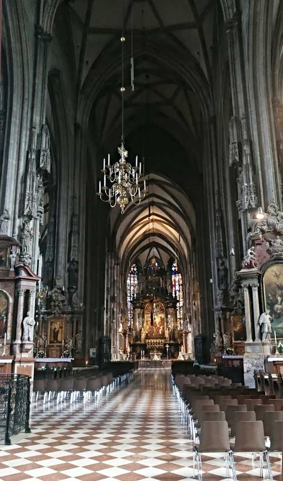st stephens cathedral interior vienna
