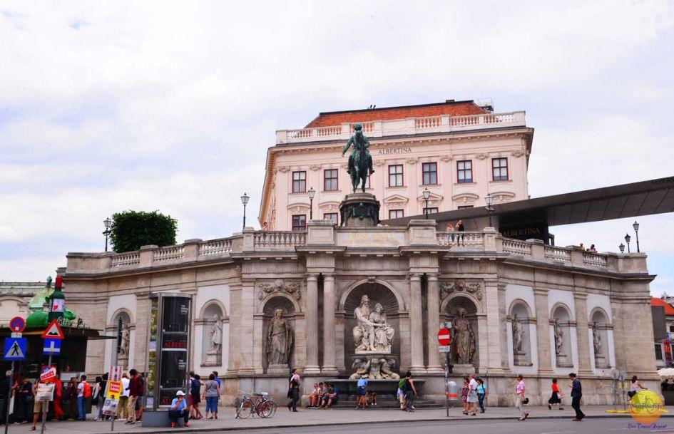 Albertina museum in Vienna