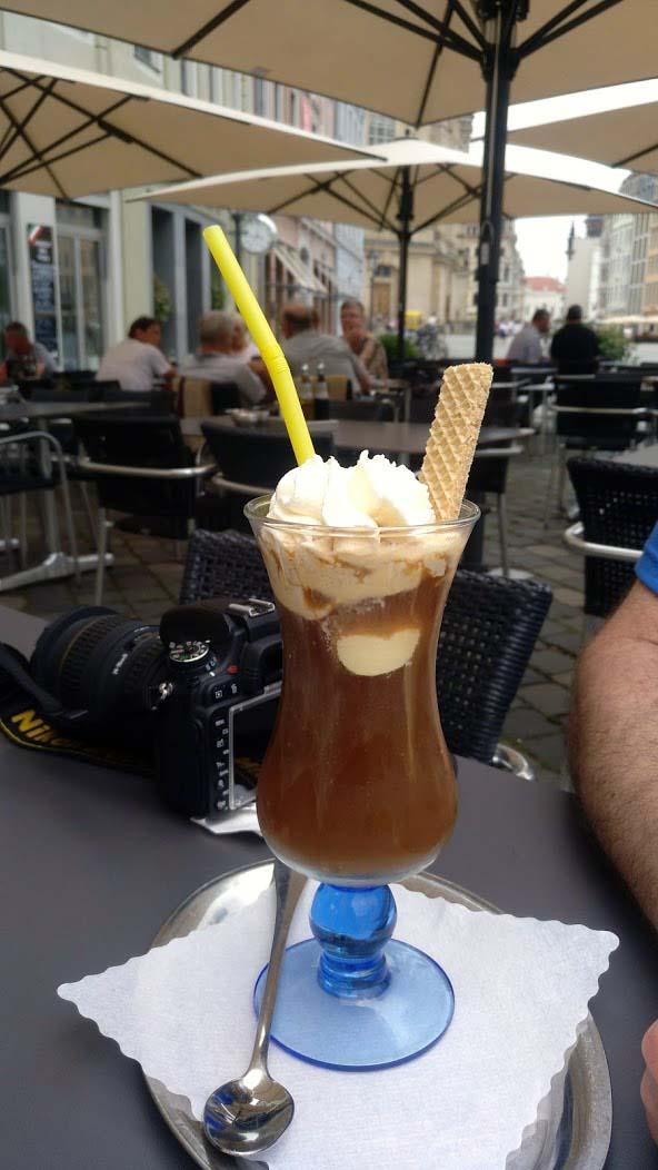 coffee drink in dresden germany