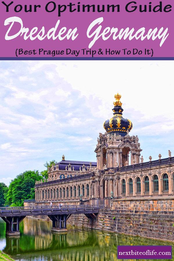 Dresden Day Trip From Prague Guide #praguedaytrip #dresden #germany #saxony #dresdenguide #semperoper #zwinger