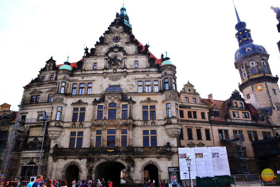 dresden residenzschloss building